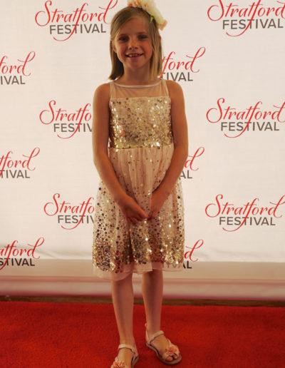 Sophie Stratford Festival Red Carpet Backdrop 2016 Opening Night
